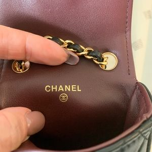 Chanel Bags - *AUTHENTICATED* Chanel Vintage Micro Mini Belt Bag